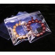 厚いOPP袋 ジッパー付きビニールケース 宝石用保存ケース アクセサリー用PP袋