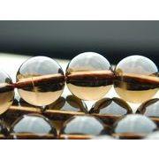 茶水晶A 10mm一連/半 1連(約38cm)_R76/A4-3