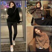 【秋冬新作】ファッションセーター♪ブラウン/ブラック/グリーン3色展開◆