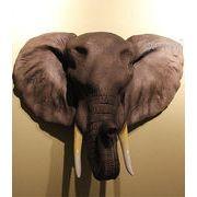 〓 ホーム壁掛け装飾品(アフリカの象)〓