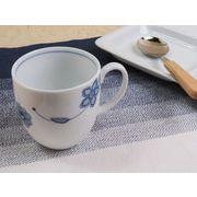【幾何学アートな世界】 洗練されたデザイン性 モダン・フラワーマグカップ