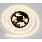 LEDテープ 白ベース 5m 300連SMD 正面発光 12V 防水 電球色