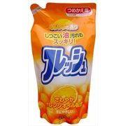 オレンジオイル配合フレッシュ詰替 【 ロケット石鹸 】 【 食器用洗剤 】