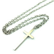 プレーンクロスネックレス ★十字架★メンズネックレス★記念日★シンプル★贈り物