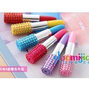 ☆人気文具◆◆記念品◆ミニ可愛い口紅デザインボールペン!!★創意★可愛いペン