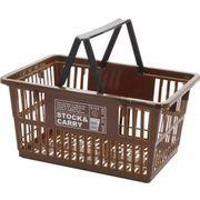 現代百貨 マーケットバスケット Stock&Carry L ブラウン