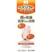 ヘパソフト 薬用顔ローション100g 【 ロート製薬 】 【 化粧水・ローション 】