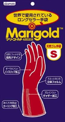 マリーゴールドSサイズ 【 オカモト 】 【 炊事手袋 】