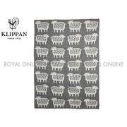 S) 【クリッパン】2208 KLIPPAN シープ ウール ブランケット 毛布 ひざ掛け