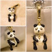 【SALE/値下げ】可愛いチャーム♪パンダ●パンダがモチーフでバッグに付けるとカワイイ♪
