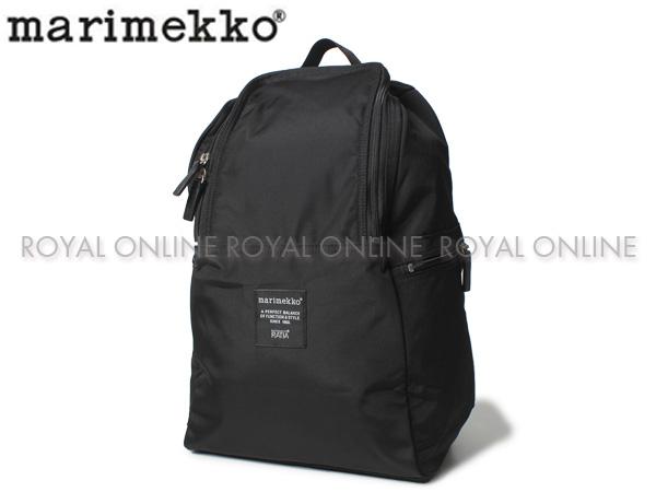 【マリメッコ】 バックパック METRO BAG ブラック