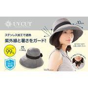 UVカット率99% 軽量遮熱ステンレス帽子