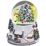 あまの クリスマス スノードーム L スノーマン