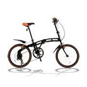 「メーカー直送」202BLACKMAX ドッペルギャンガー 20インチ折りたたみ自転車 202 blackmax