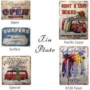 ★【Antique Tin Plate】レトロ調★ティンプレート★