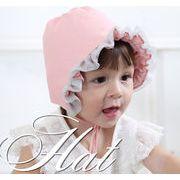 bc136391◆5000円以上【送料無料】◆ベビー春秋新品★お嬢様帽子 赤ちゃん用 ベビーハート