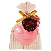 ルクールサボン(ピンク)/日本製 ハート 石鹸 癒し ノベルティ ギフト
