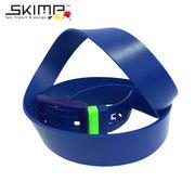 ラバーベルト  ゴルフ メンズ 乗馬 ゴム ロングサイズ SKIMP  メンズ ネイビー