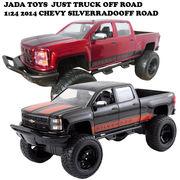 JADATOYS 1:24 2014 CHEVY SILVERADO OFF ROAD ミニカー