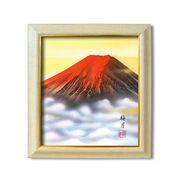 葛谷聖山(梅月)8125色紙額
