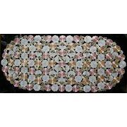 ♪♪カットワーク刺繍テーブルセンター♪♪(40×90CM)