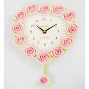 ローズハート 振り子時計