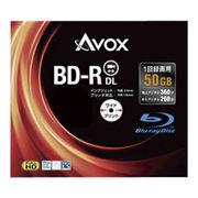 (レジャー)(AV機器)アボックス 録画用BD-R 50GB スリム10P BR260RAPW10A