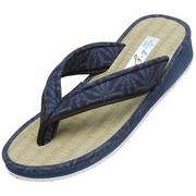 【日本製】臭いも吸収して足元爽やか♪紳士い草の優しい履き心地。日本製本畳サンダル