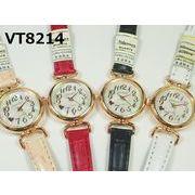 VITAROSOレディース腕時計 PUレザーベルト 日本製ムーブメント