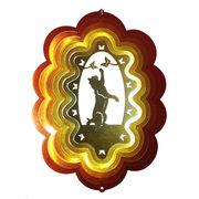 マジカルスピナー 『キャット 猫 ネコ 9インチ 銅銀』 ハワイ 雑貨【夏にオススメ! 即納】