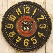 ROUTE66  RTE TIN クロック【壁掛時計】