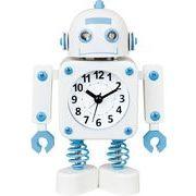 ヂャンティ商会 目覚まし時計 ロボットアラーム ナチュラル