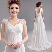 花嫁ドレス ウェディングドレス 二次会ドレス パーティードレス トレーンドレス