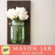 壁掛け メイソンジャー 1連 Ball Mason jar グリーン