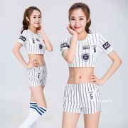 【即日出荷】白 パンツ チアガール レースクイーン コスプレ衣装【7702】