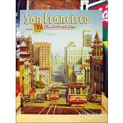 アメリカンブリキ看板 San Francisco