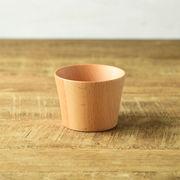 木製クラフトカップ S ナチュラル
