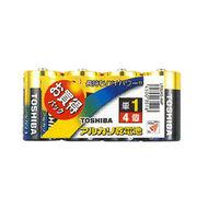 TOSHIBA(東芝)単1アルカリ電池 4本パック LR20AG 4MP