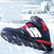 スニーカー キッズ ジュニア 子供シューズ 靴  滑り止め 通学 運動会 スポーツ 冬用