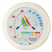 EMPEX 温度計 環境管理 温・湿度計「熱中症注意」 掛用 TM-2482