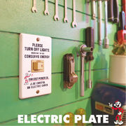 ELECTRIC PLATE