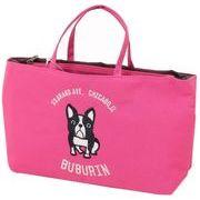 アディクト 犬柄 バッグインバッグ シカゴブブリンBag in Bag /ピンク