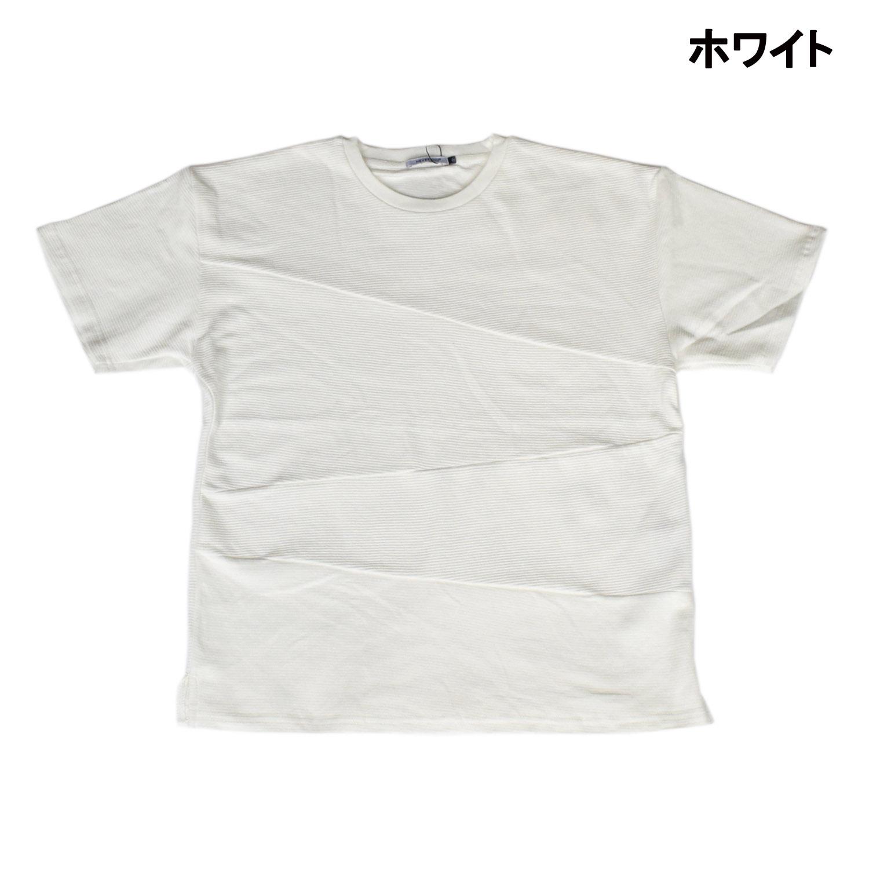 【2017春夏】タックボーダー切替Tシャツ