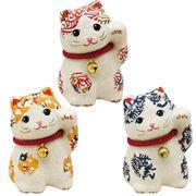 型染め和紙 招き猫(小)