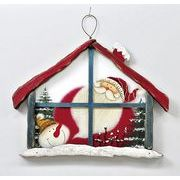 【ウインターフェアセール!】【クリスマス】【ガラスハウスボード】2種