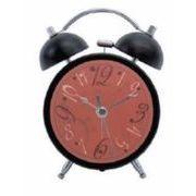 大西賢製販 目覚まし時計 ミュージック ブラック