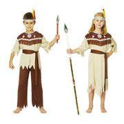 Halloween ハロウィン コスチューム 子供 土着 インディアン 女の子 男の子