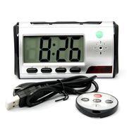 【小型カメラ】デスククロック型ビデオ 12時間録画大容量バッテリー