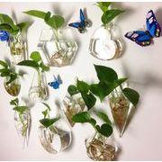 BLHW150127◆5000以上【送料無料】◆壁掛け花瓶 フラワースタンド フラワーポット ガラスの花瓶