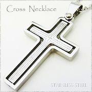 ステンレス ネックレス クロス 十字架 リバーシブル シルバー レディース メンズ アクセサリー